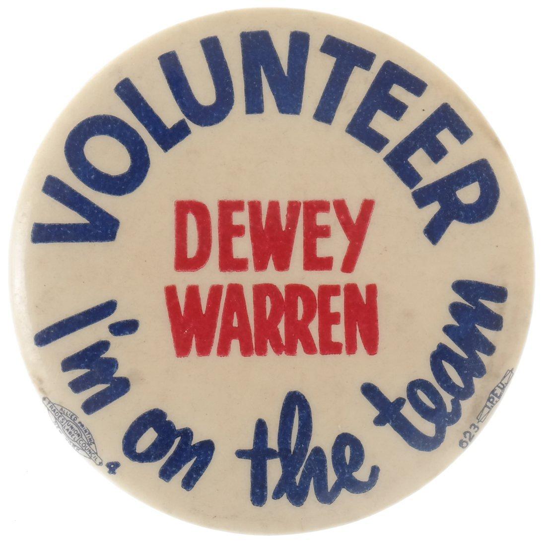 "Thomas E. Dewey 1948 ""Victory,"" ""Staff,"" & ""Team"" - 4"
