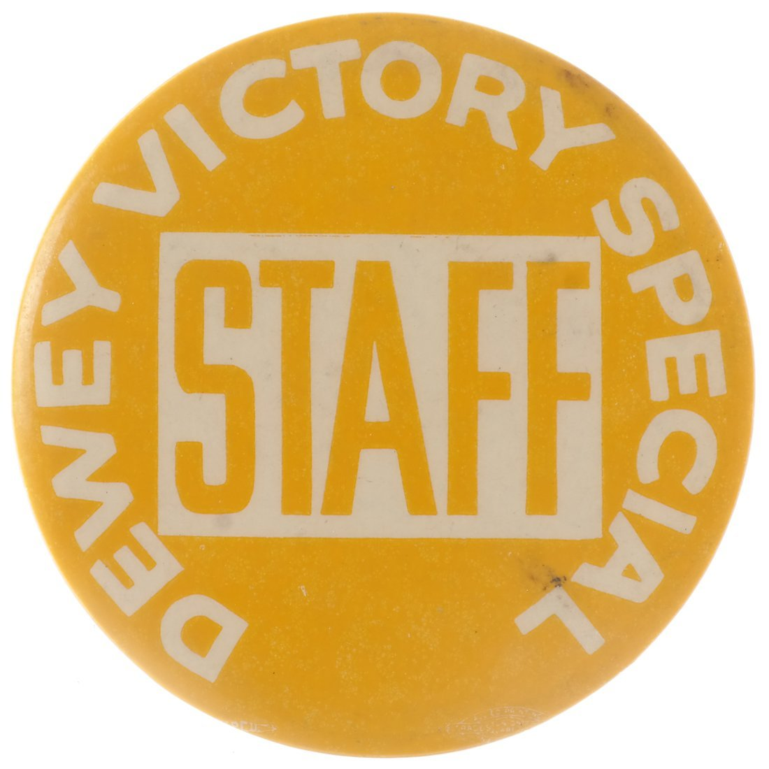 "Thomas E. Dewey 1948 ""Victory,"" ""Staff,"" & ""Team"" - 6"