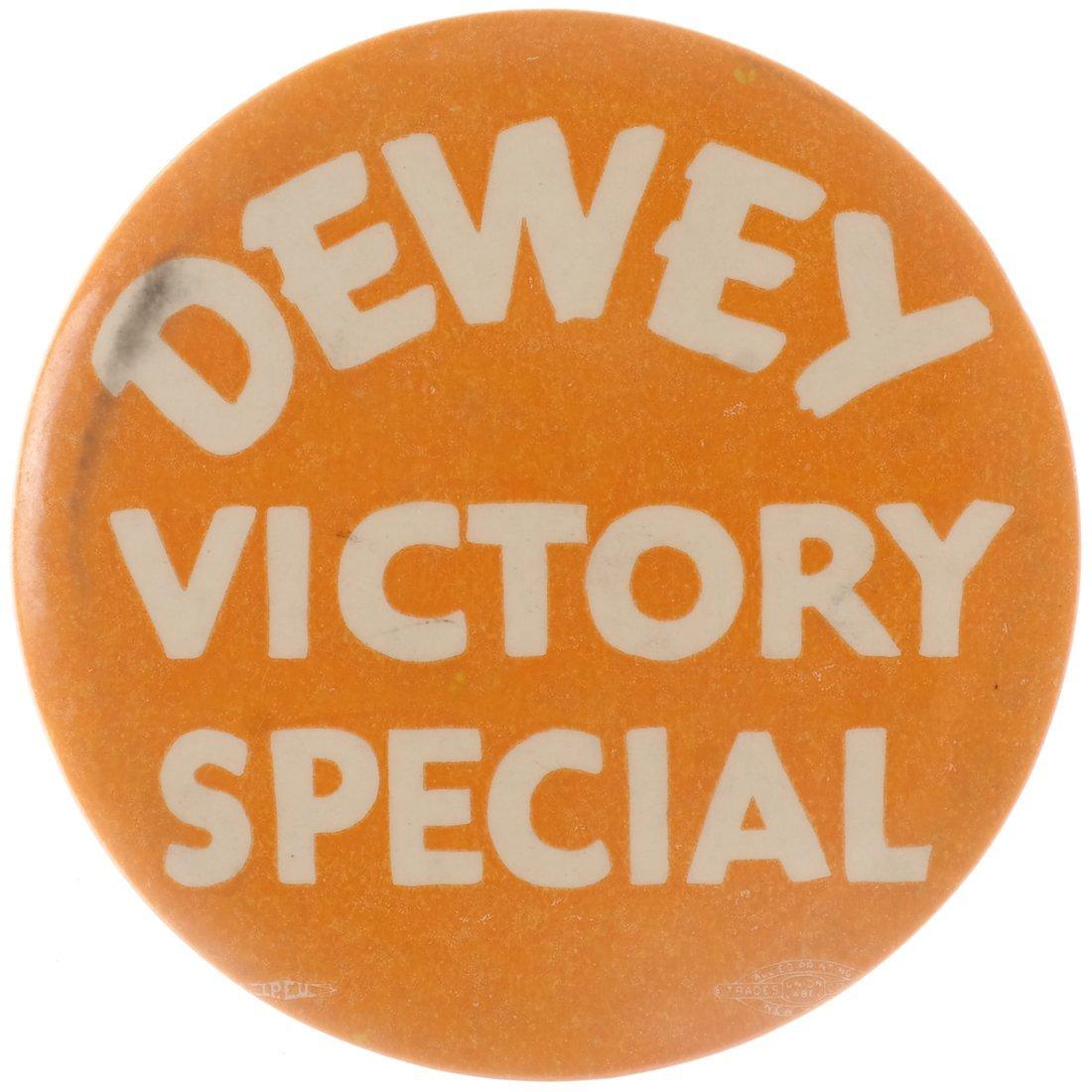 "Thomas E. Dewey 1948 ""Victory,"" ""Staff,"" & ""Team"" - 7"