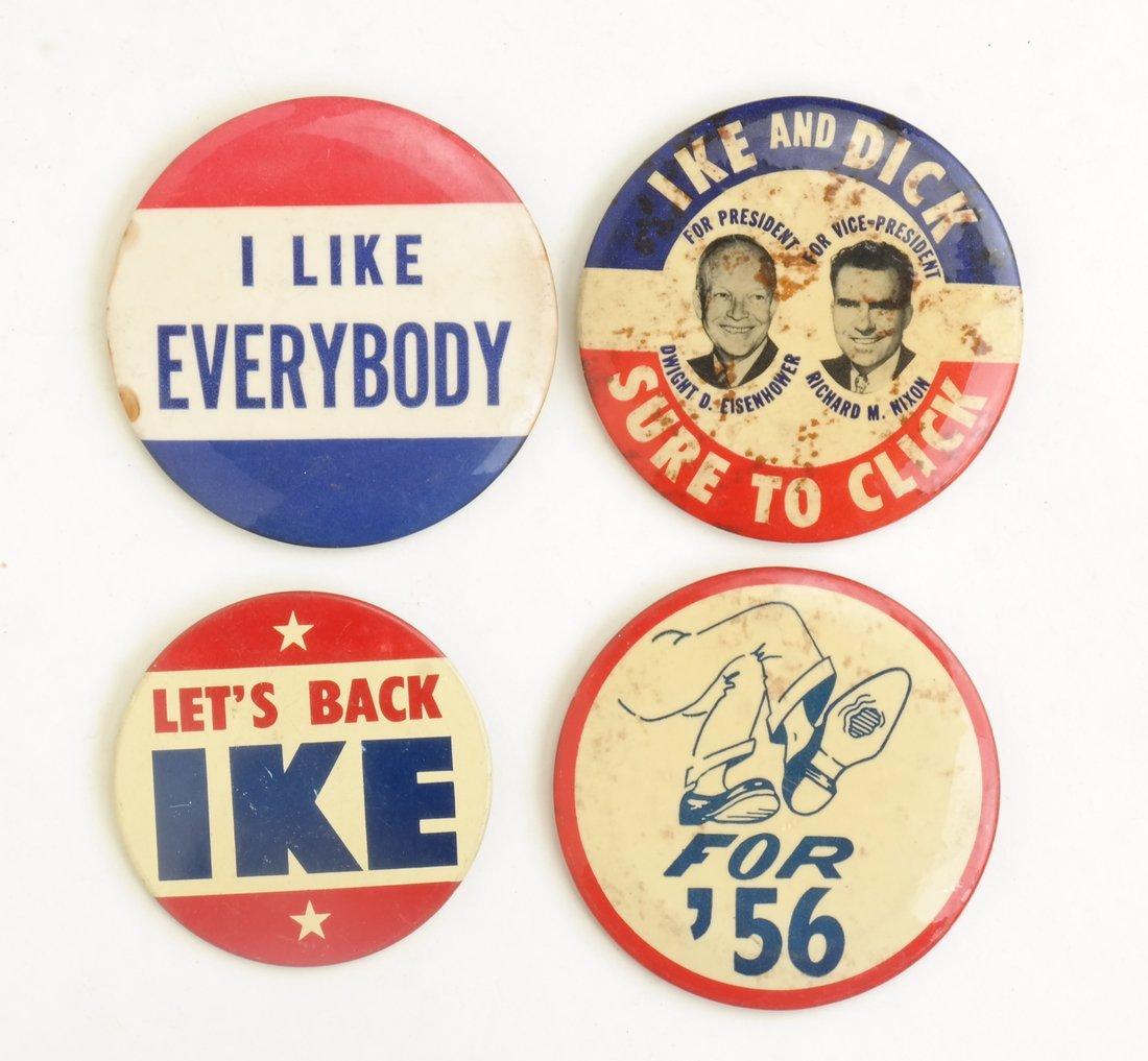 Dwight D. Eisenhower 1952 & 1956 Campaign Buttons - 5