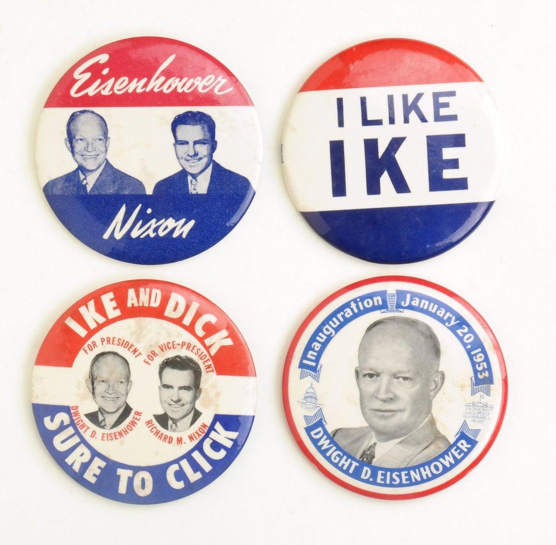 Dwight D. Eisenhower 1952 & 1956 Campaign Buttons - 6
