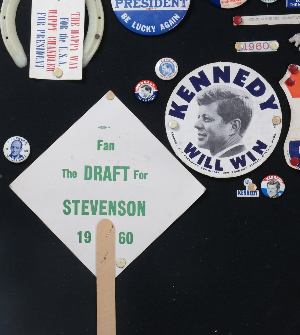 1956 and 1960 Presidential Campaigns Display - 5