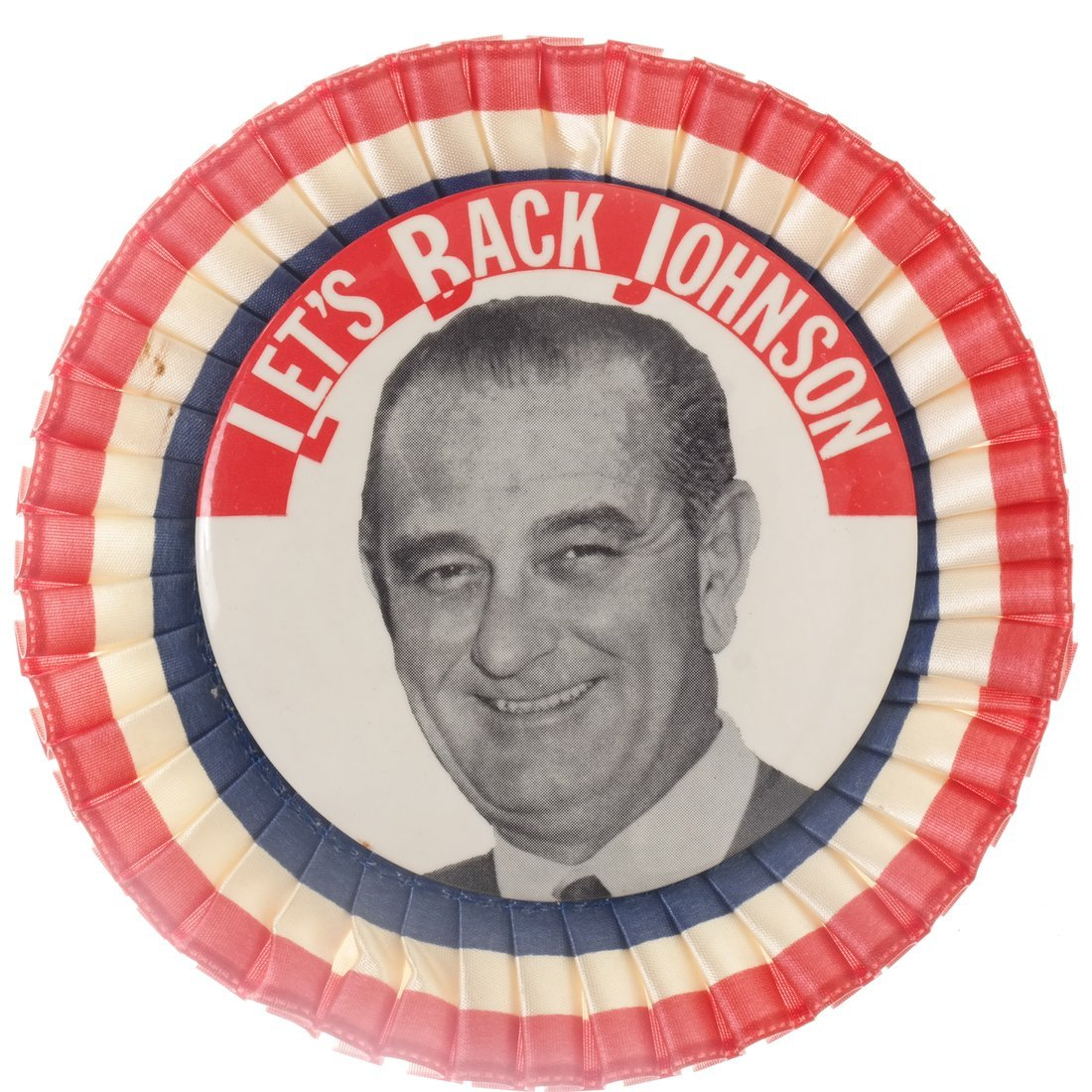 Lyndon. B. Johnson - Five 1964 Celluloids - 4