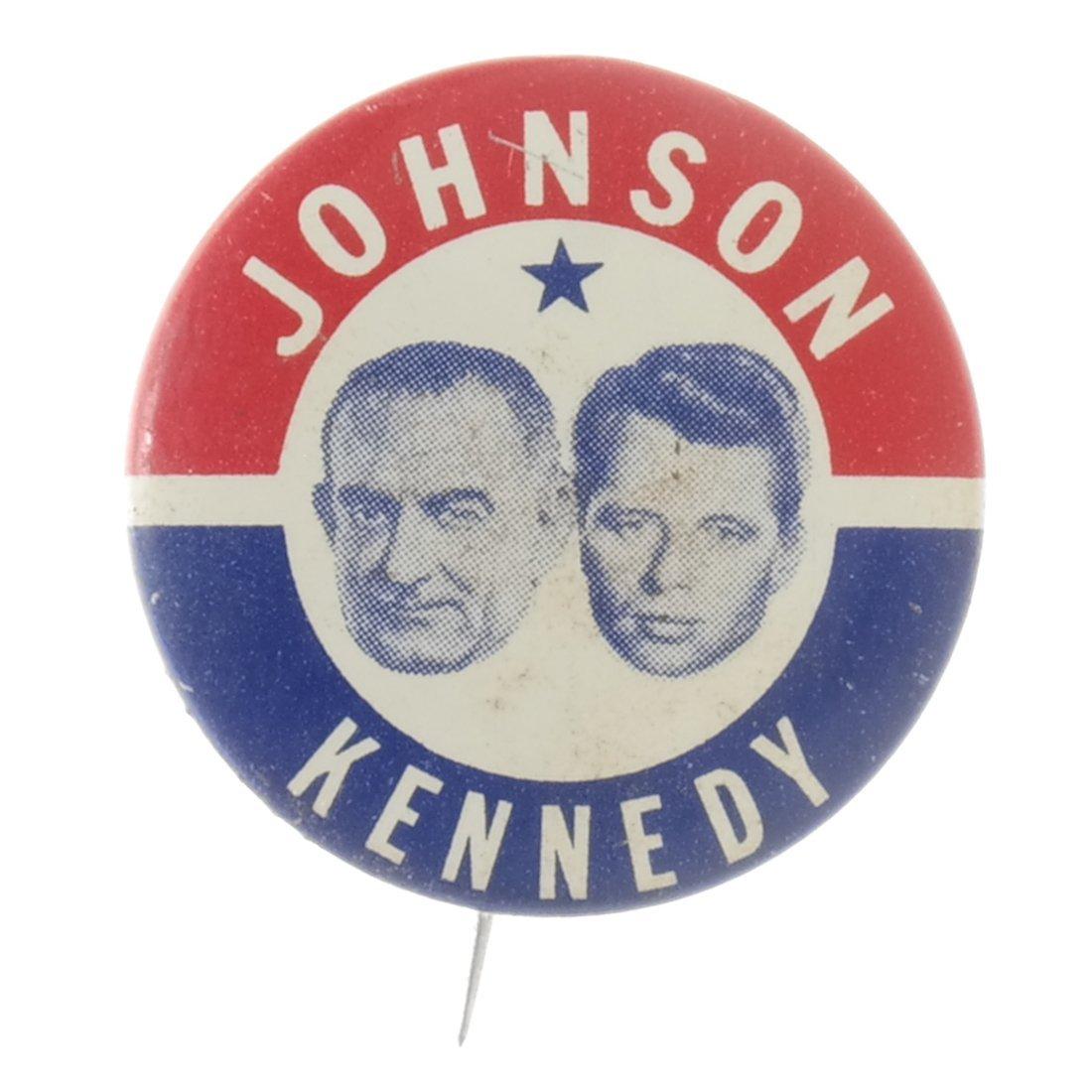 Lyndon. B. Johnson - Five 1964 Celluloids - 5