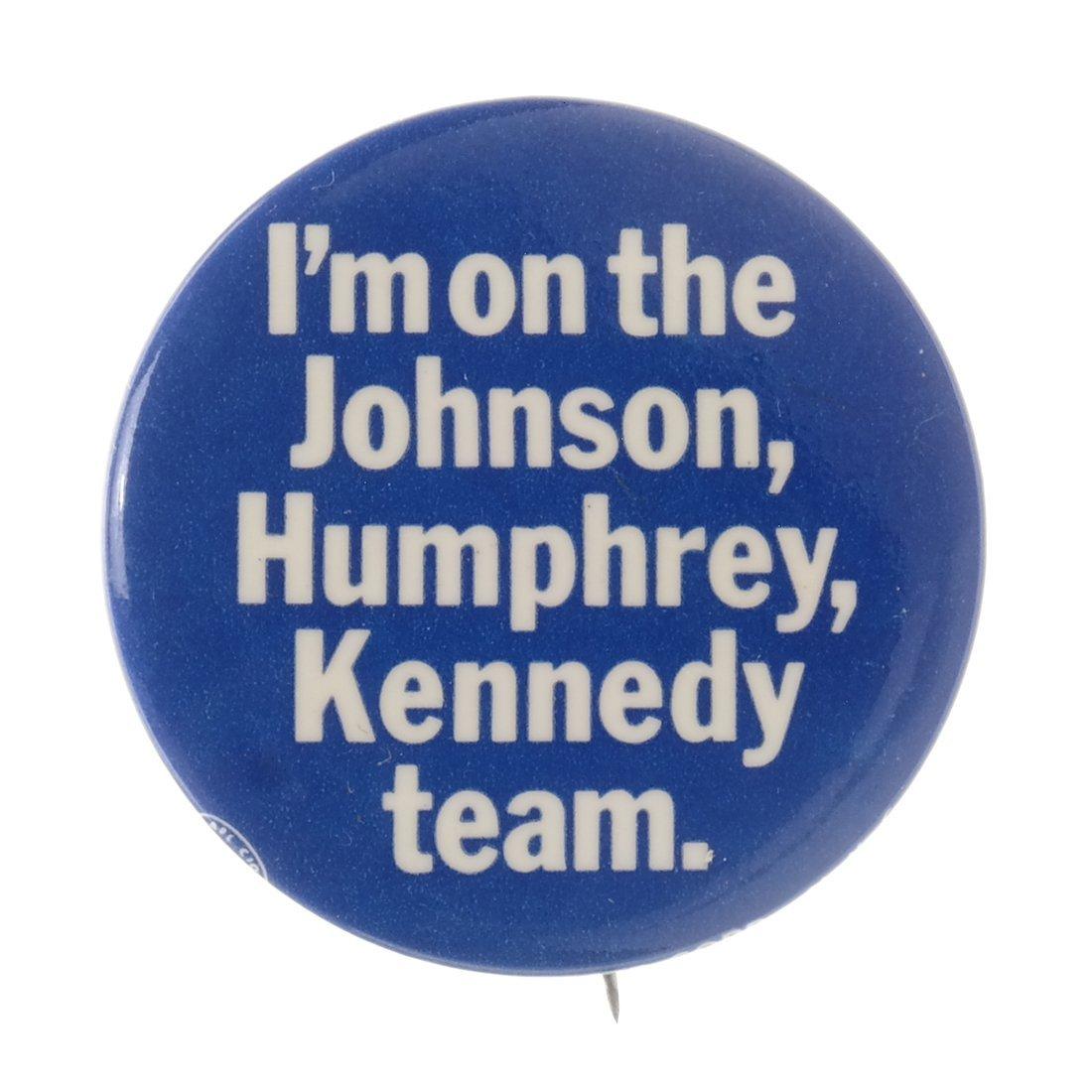 Lyndon. B. Johnson - Five 1964 Celluloids - 6