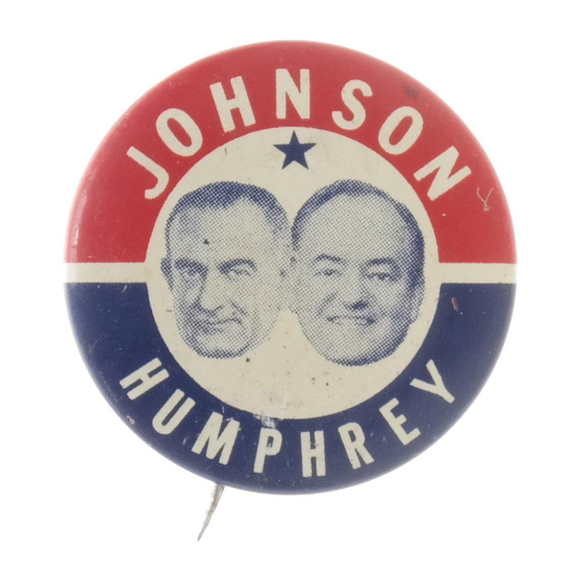 Lyndon. B. Johnson - Five 1964 Celluloids - 7