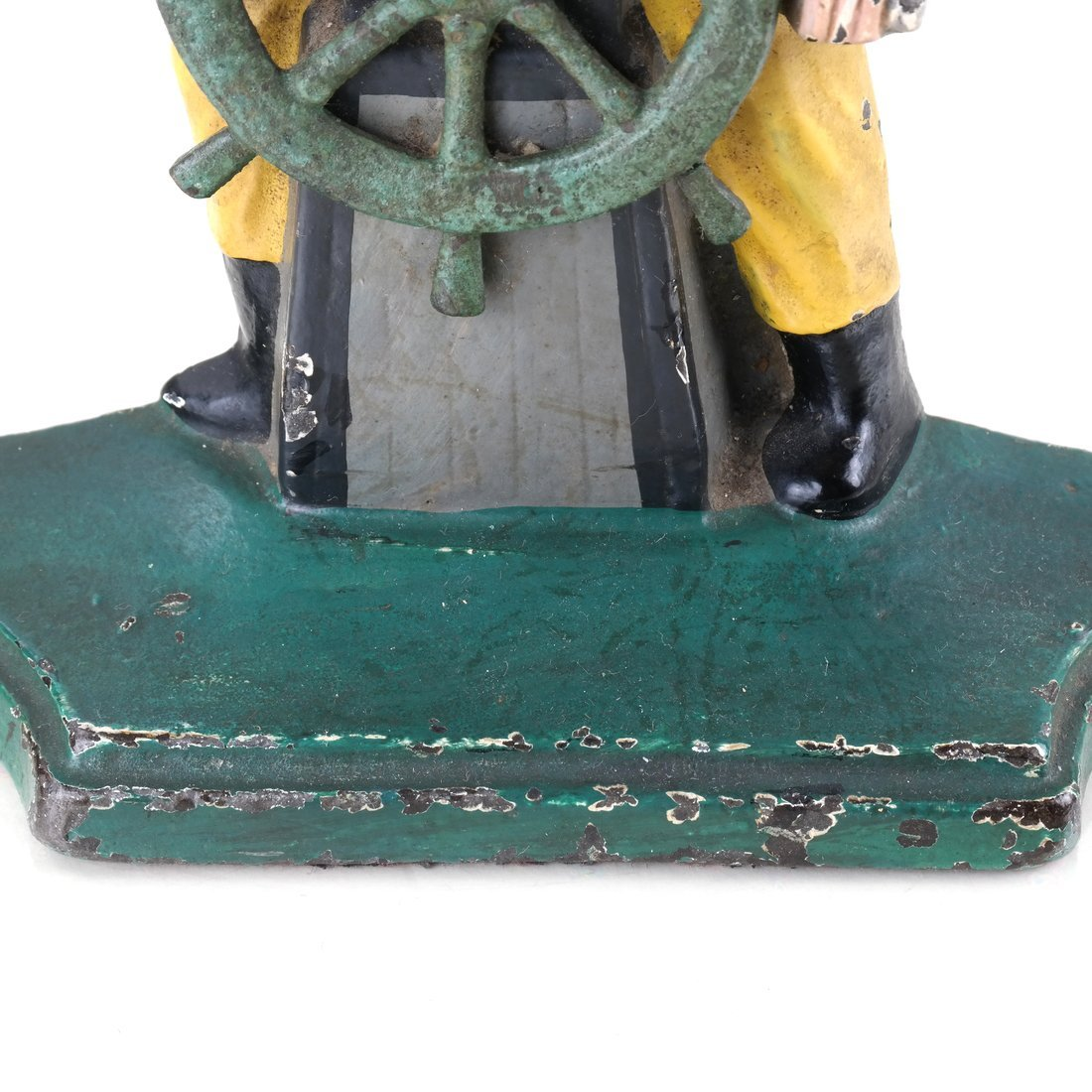 Two Painted Cast Iron Nautical Doorstops - 10