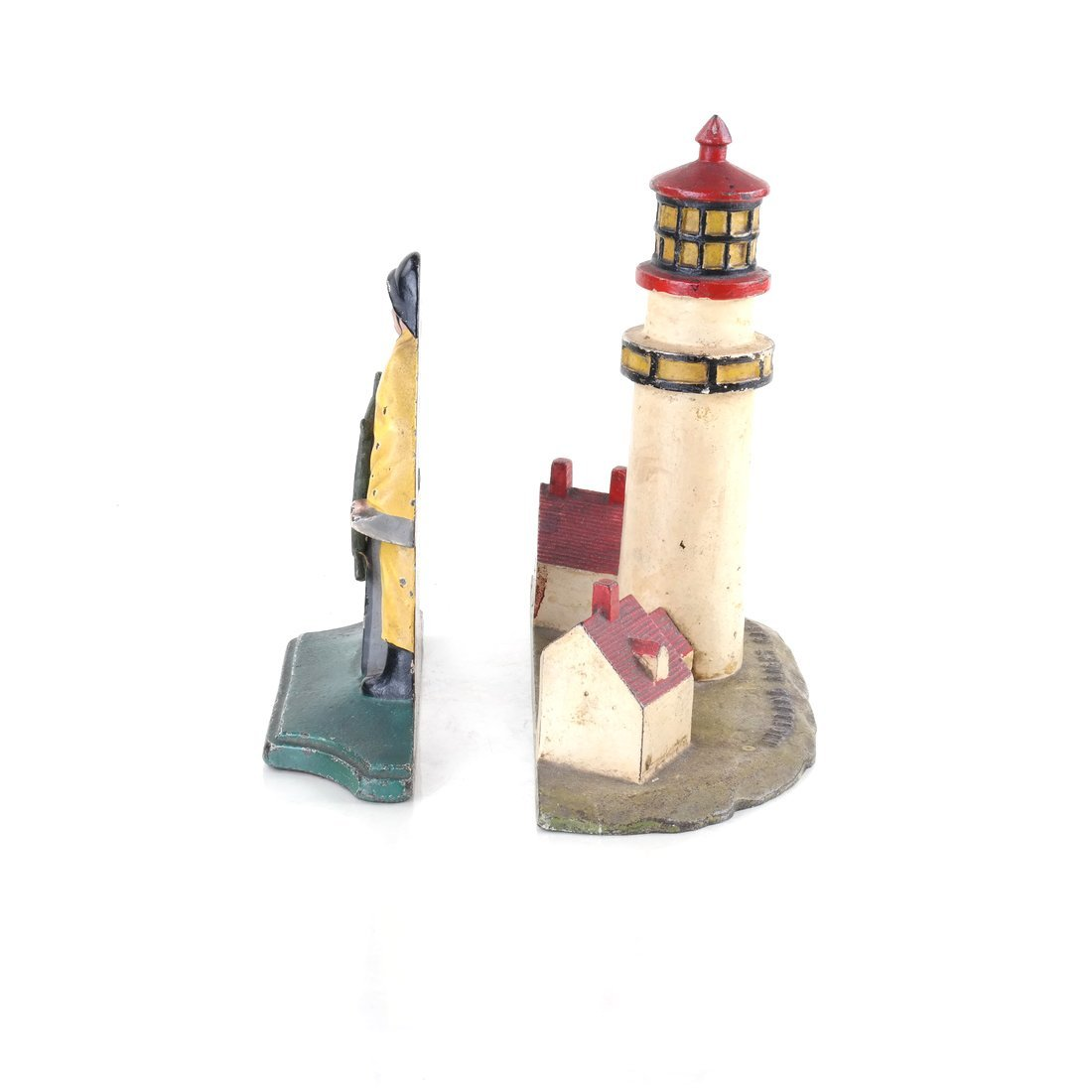 Two Painted Cast Iron Nautical Doorstops - 4