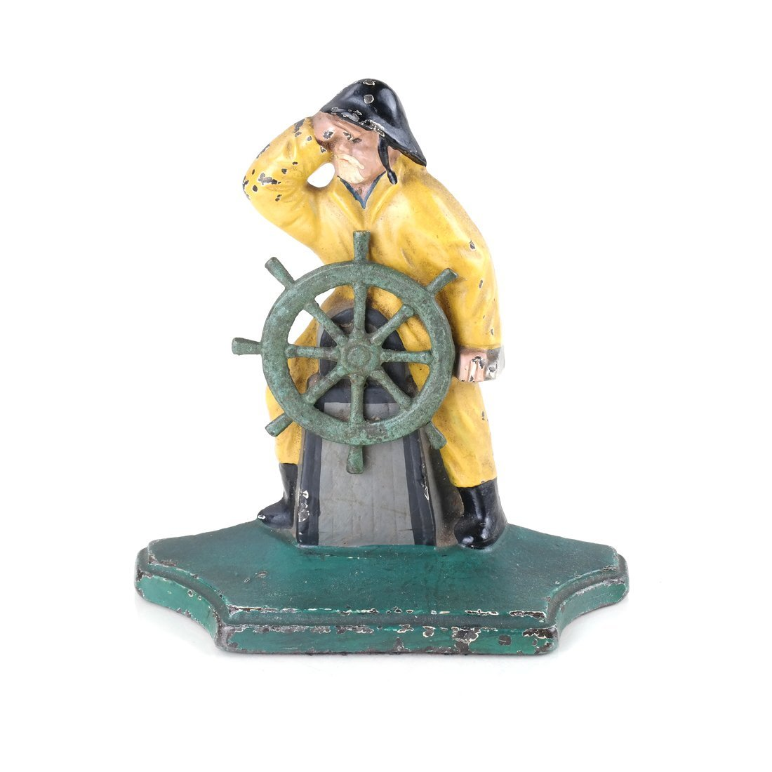 Two Painted Cast Iron Nautical Doorstops - 7