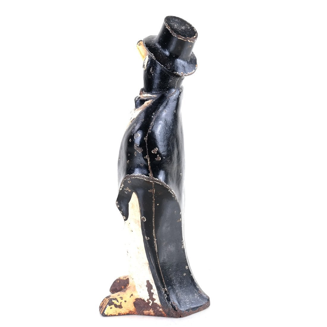 Cast Iron Penguin with Top Hat - 4