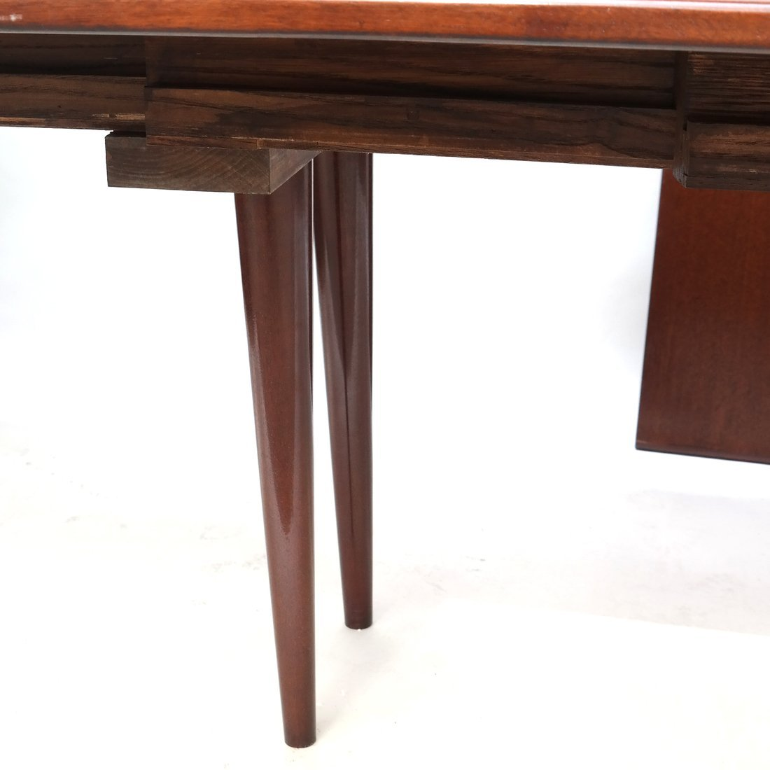 French Mahogany Extension Dining Table - 3