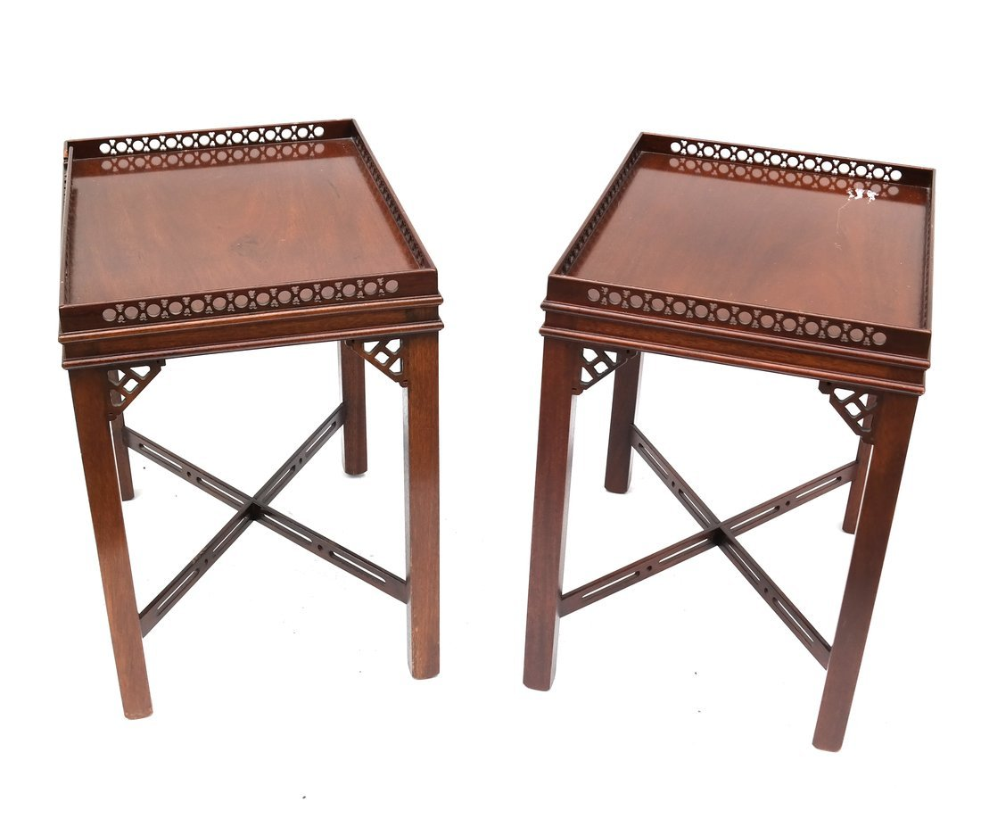 Pair of George III-Style Side Tables