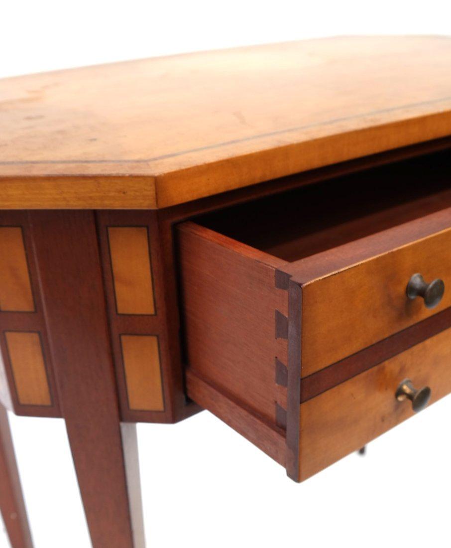 George III Style Satinwood Side Table - 2