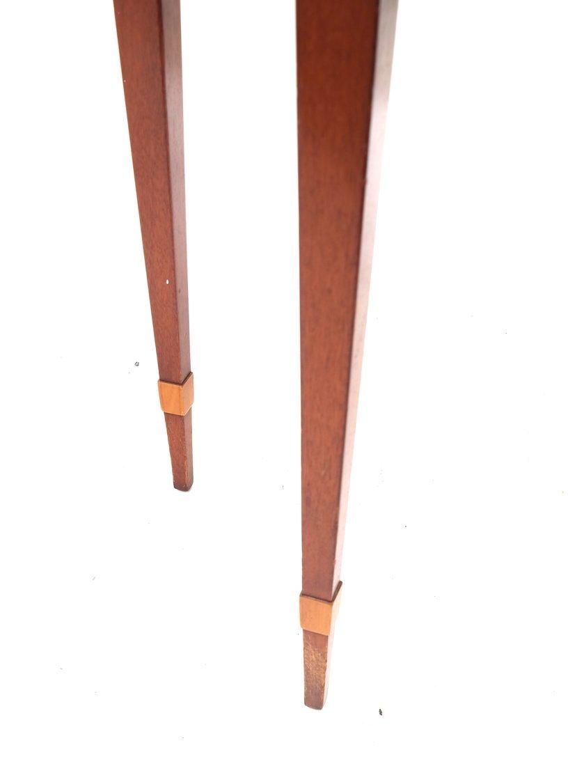 George III Style Satinwood Side Table - 4
