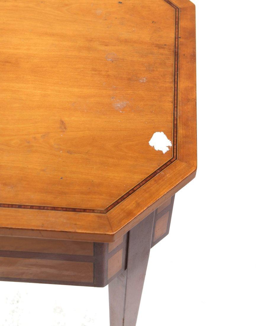 George III Style Satinwood Side Table - 7