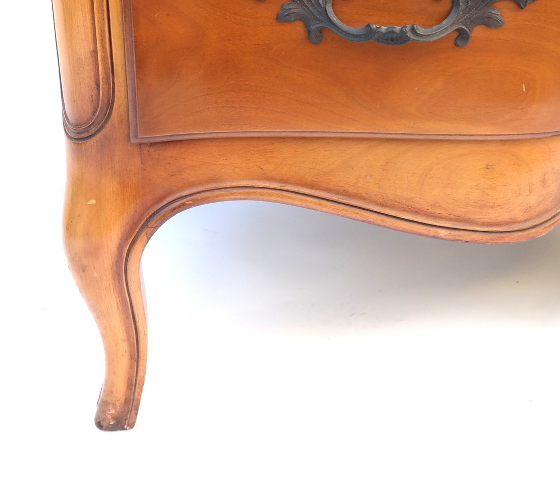 Pair of Louis XV Style Mahogany Chests - 7