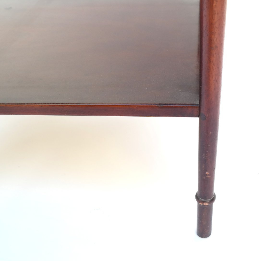 Queen Anne Style Mahogany Side Table - 6