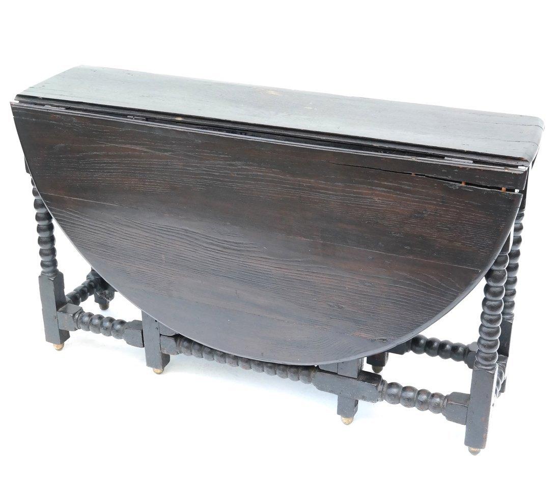 William & Mary-Style Gateleg Table - 2