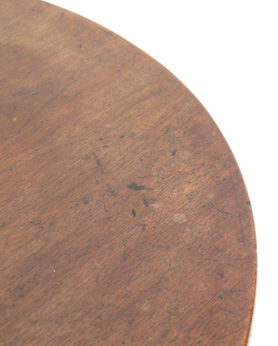 19th C. Queen Anne-Style Tilt-Top Table - 5