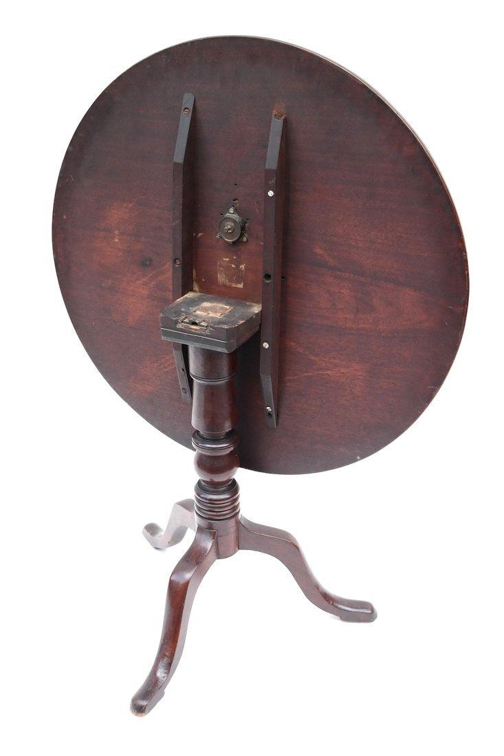 19th C. Queen Anne-Style Tilt-Top Table - 7