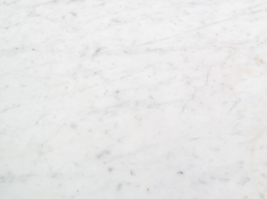 Eastlake Victorian Marble Top Table - 5