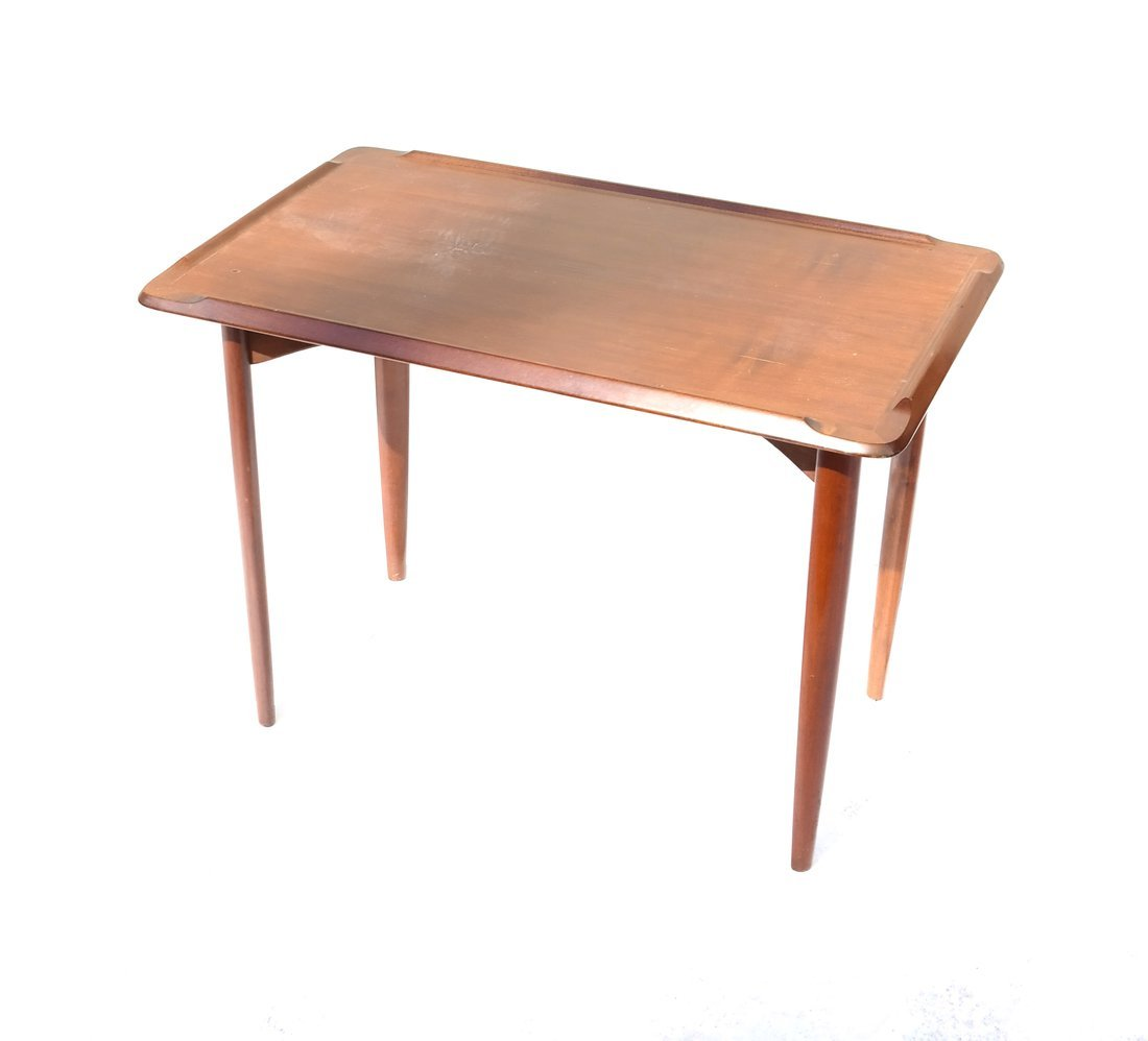 Modern Mahogany Low Table
