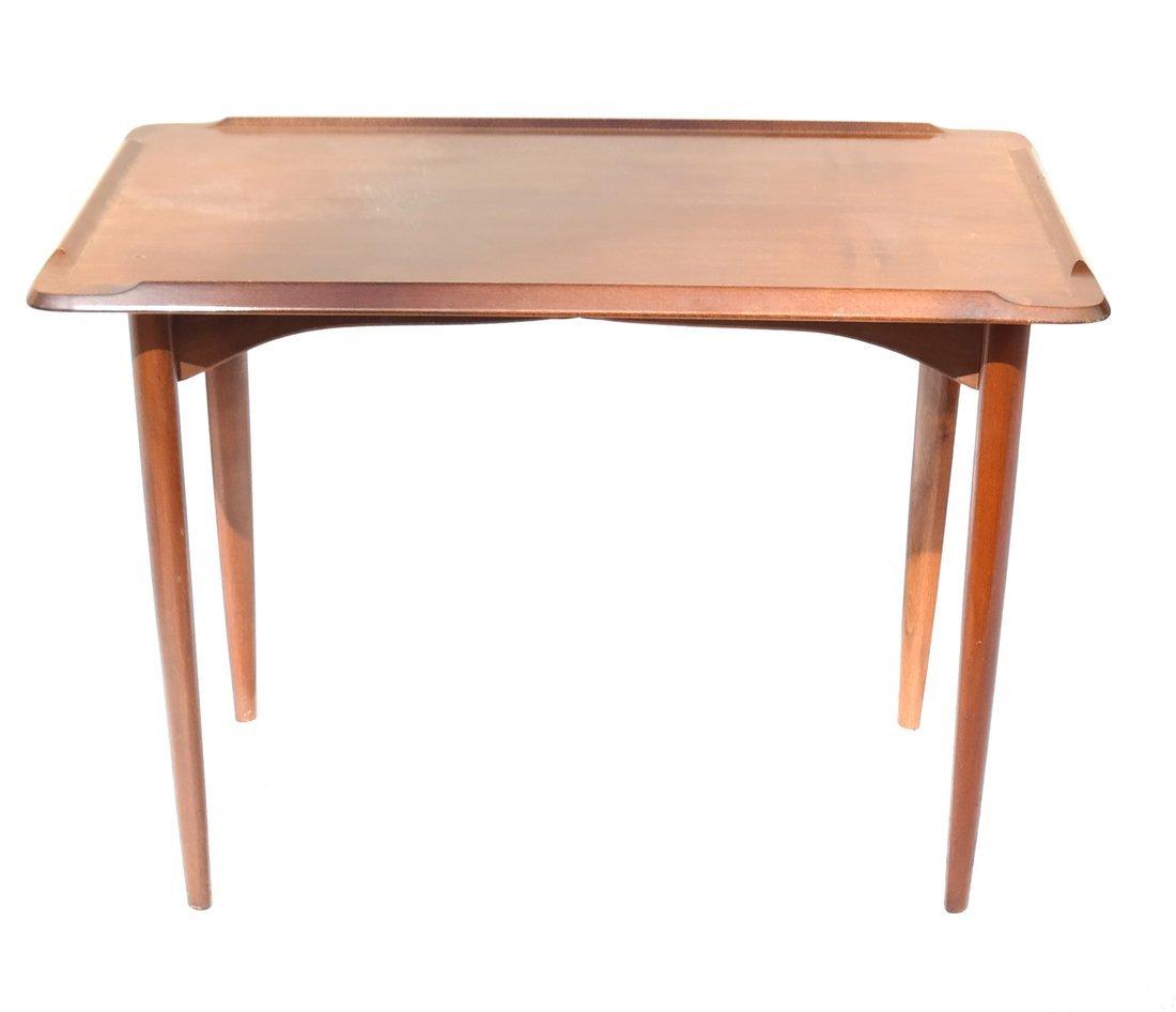 Modern Mahogany Low Table - 3
