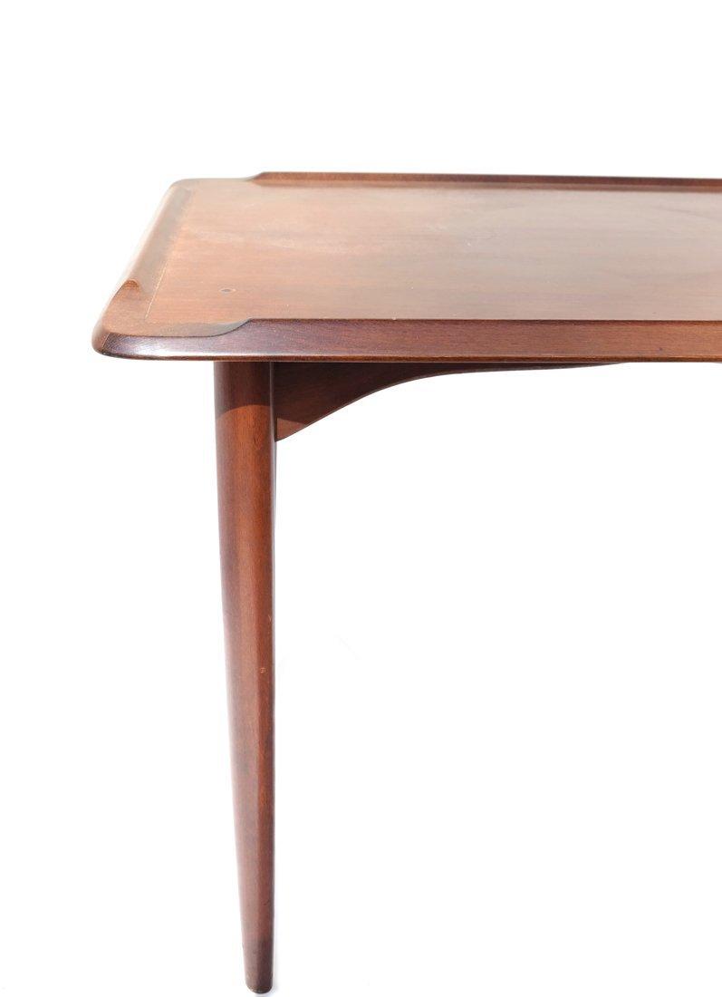 Modern Mahogany Low Table - 4