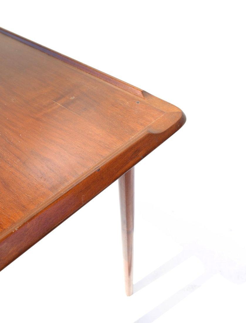 Modern Mahogany Low Table - 7