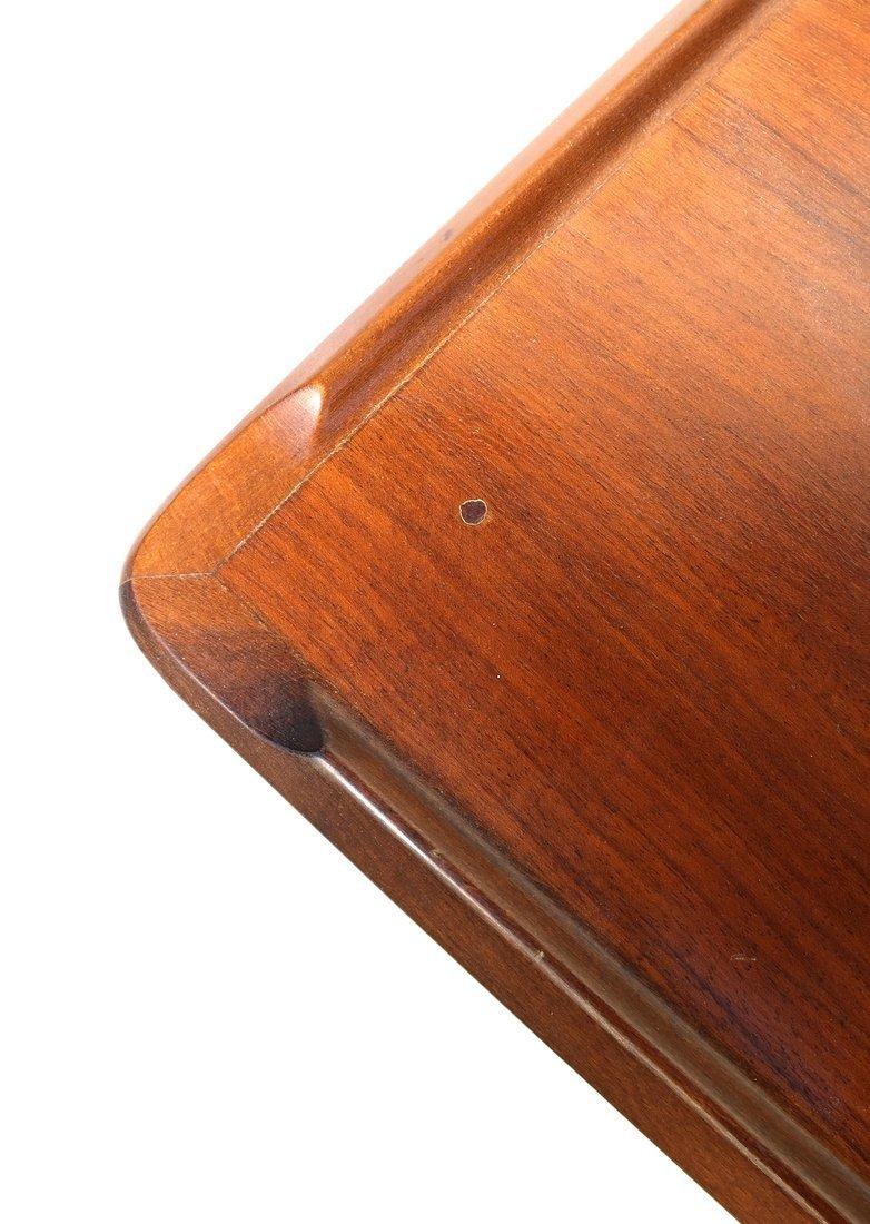 Modern Mahogany Low Table - 8