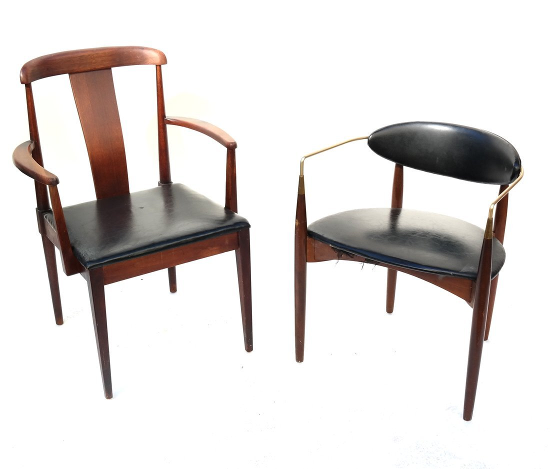 Two Modern Armchairs