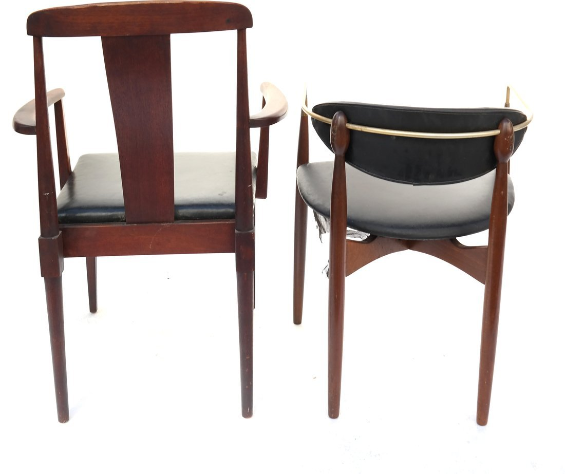 Two Modern Armchairs - 7