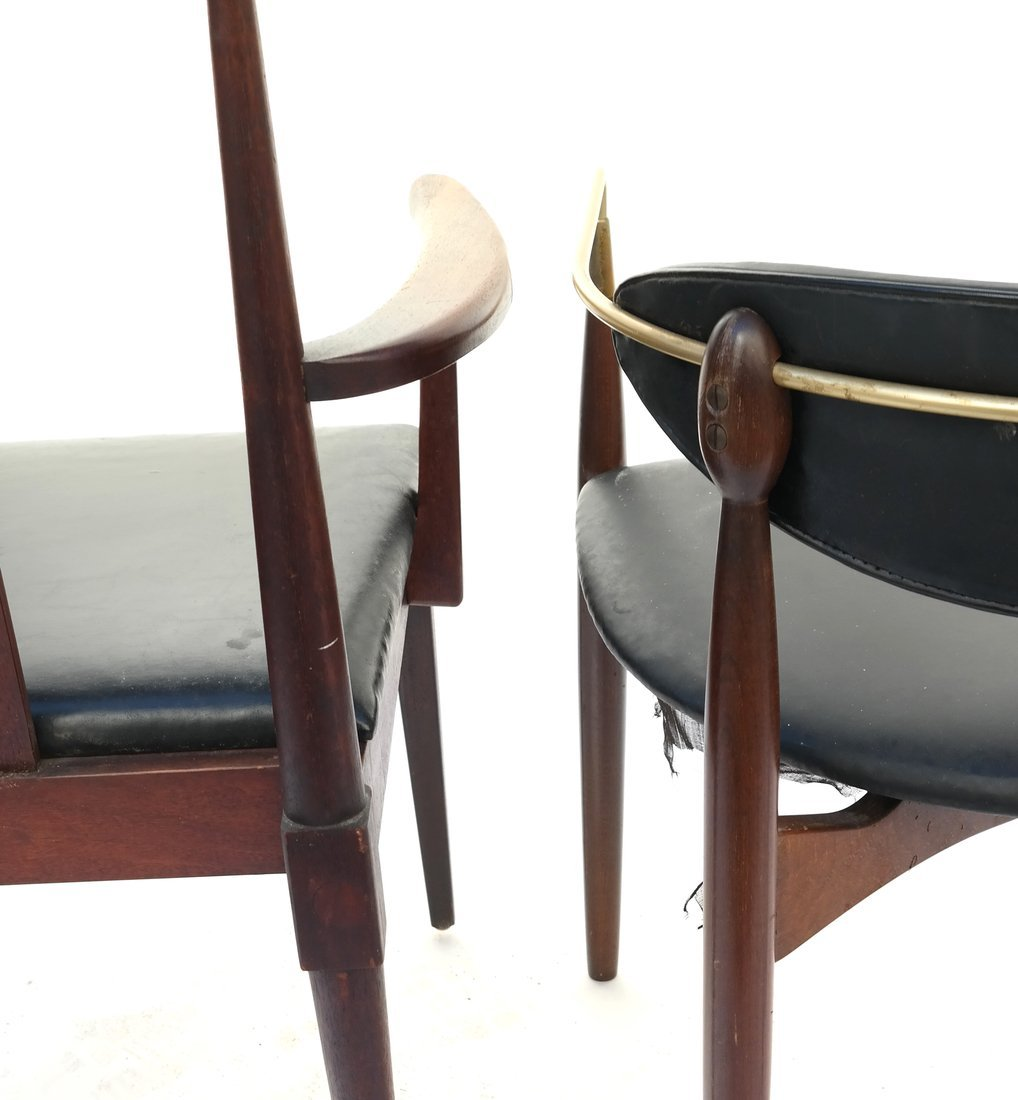 Two Modern Armchairs - 8