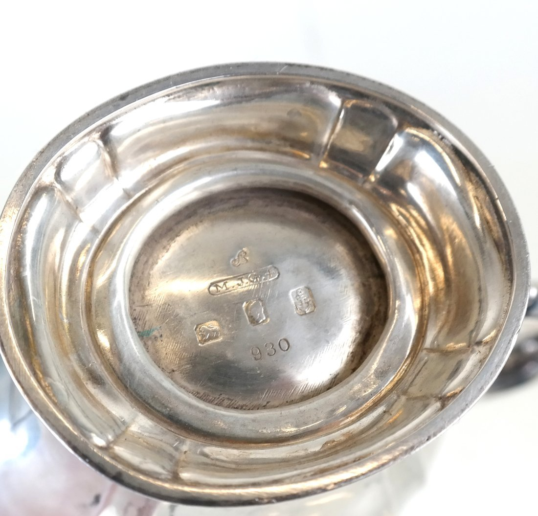 American Sterling Three-Piece Tea Set - 5