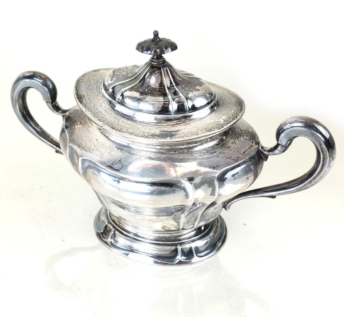 American Sterling Three-Piece Tea Set - 6