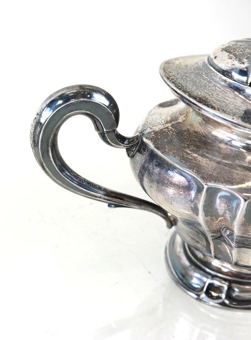 American Sterling Three-Piece Tea Set - 7