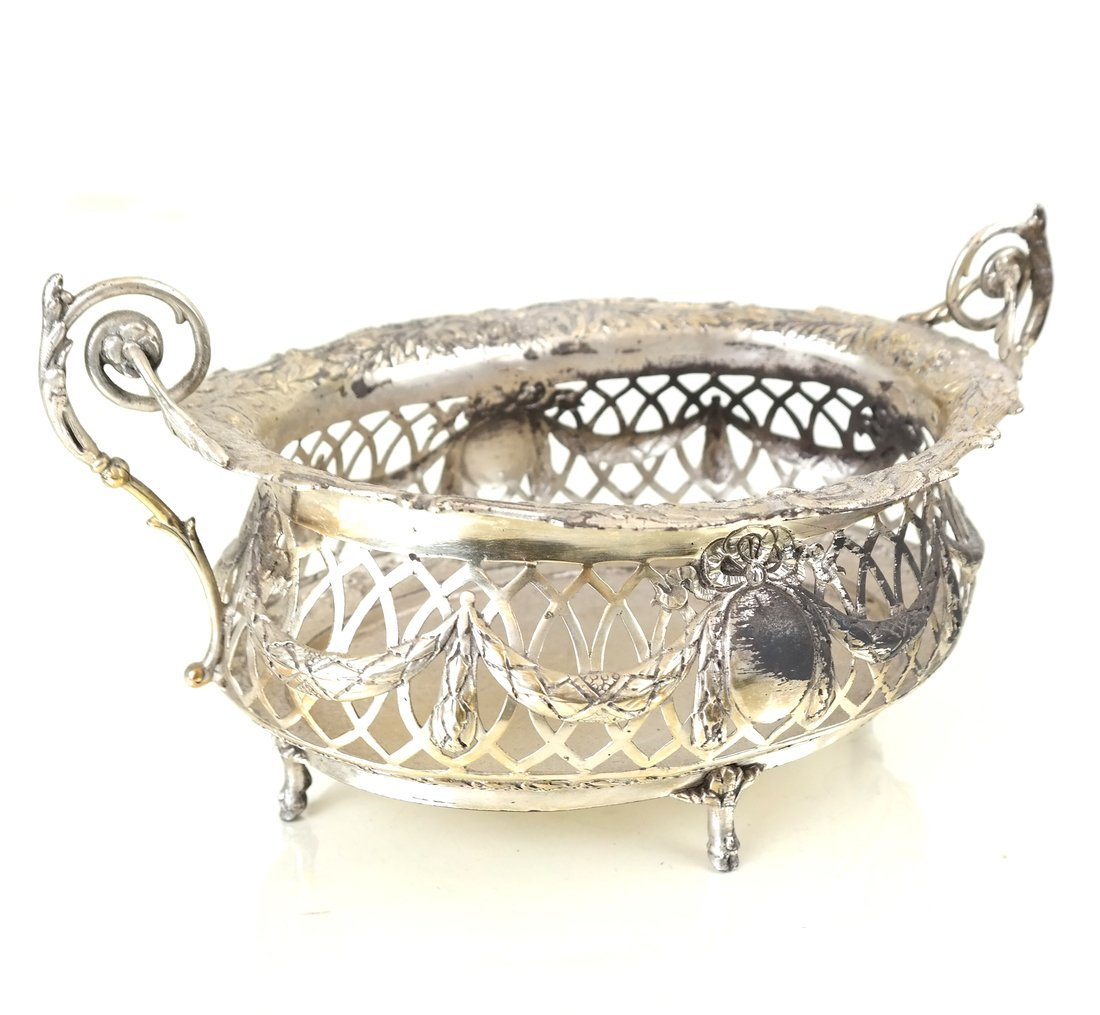 Three .800 Silver or Silver-Plated Items - 7