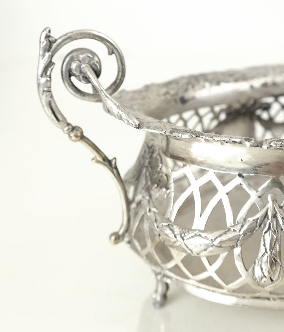 Three .800 Silver or Silver-Plated Items - 8