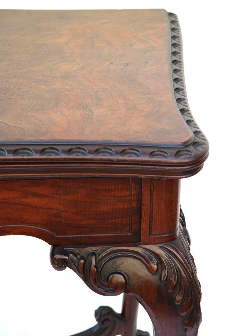 George III Style Mahogany Console - 4