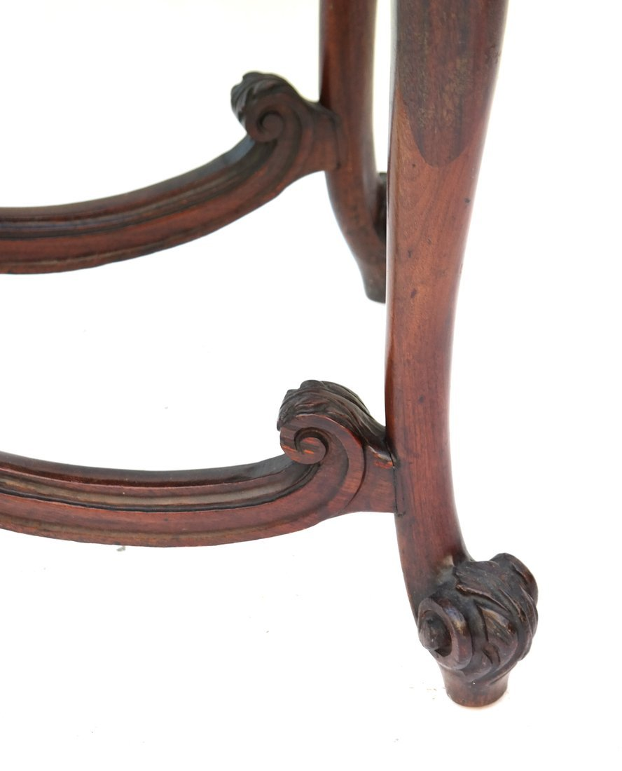 George III Style Mahogany Console - 5