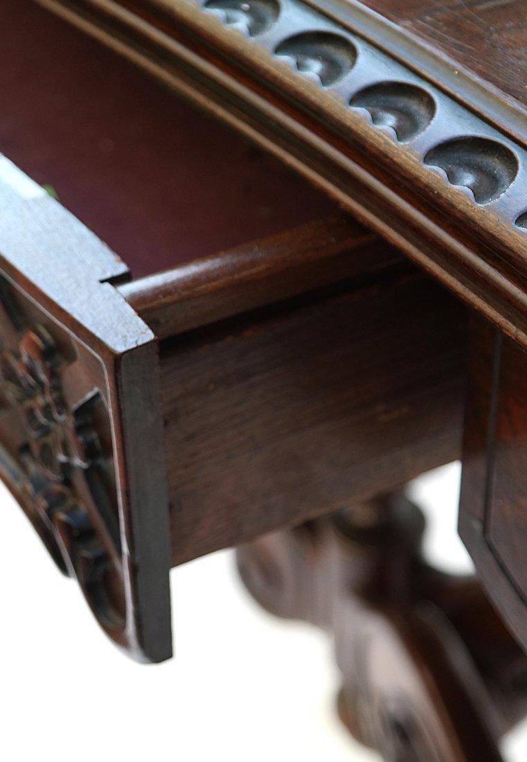 George III Style Mahogany Console - 8