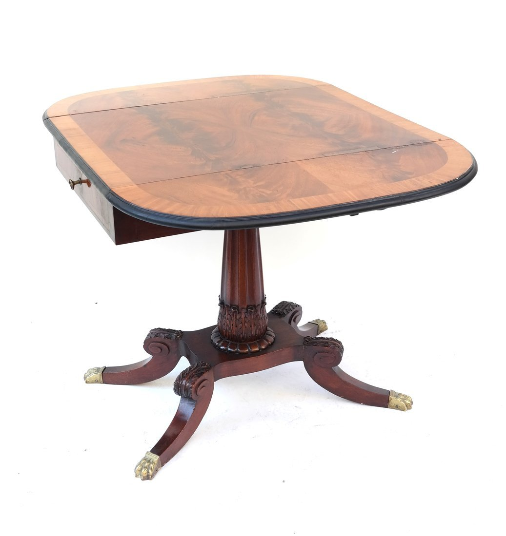 George III Style Small Sofa Table - 2