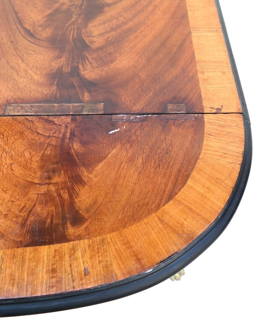 George III Style Small Sofa Table - 6