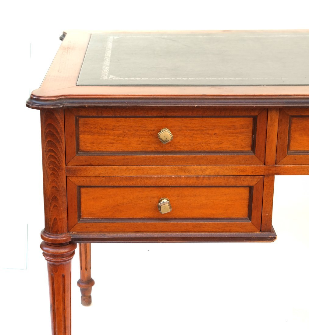 Louis XVI Style Bureau Plat - 2