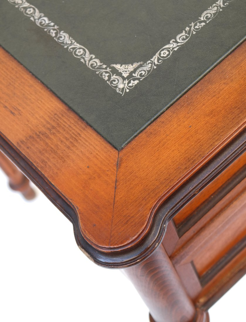 Louis XVI Style Bureau Plat - 7