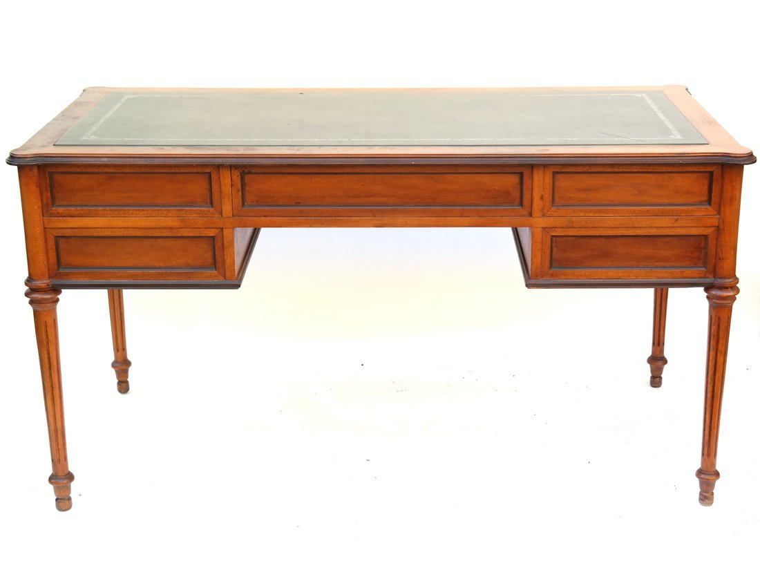 Louis XVI Style Bureau Plat - 8