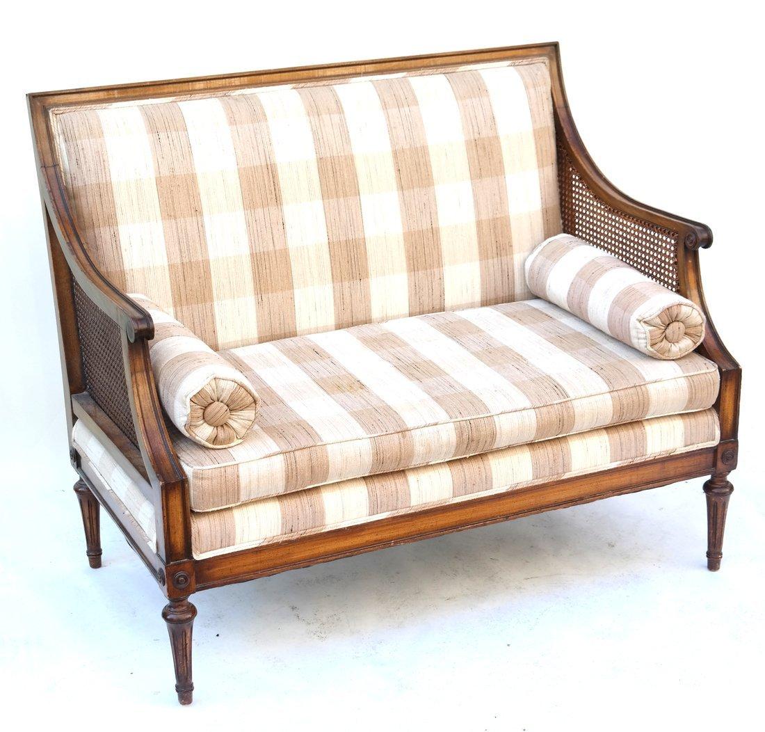 Louis XVI Style Petite Settle