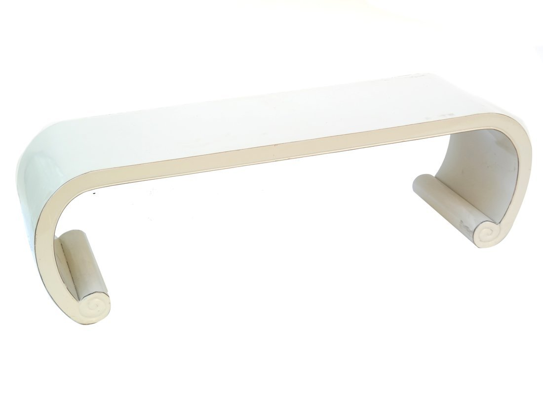 Modern Asian Style Waterfall Table