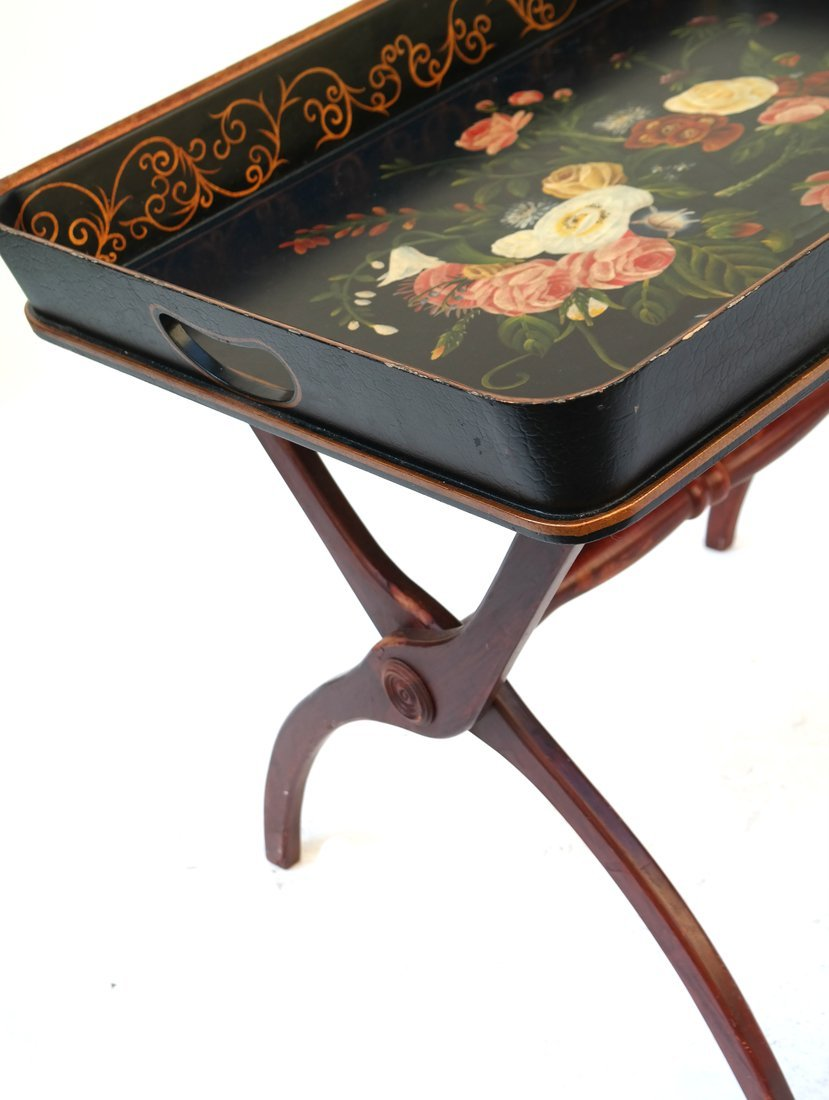 Chinese Tray on Stand - 2