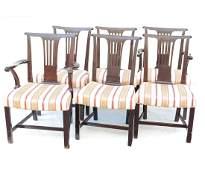 Set Six George III Style Dining Chairs